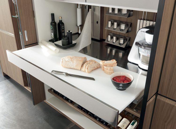 Novità ed accessori per cucine funzionali e tecnologiche emmearredo